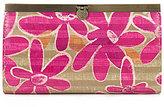 Patricia Nash Striped Daisy Collection Cauchy Wallet