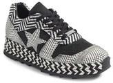 Stella McCartney Women's Star Woven Espadrille Sneaker