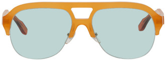 MAISON KITSUNÉ Orange Khromis Edition Acetate Sunglasses