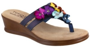 Easy Street Shoes Tuscany by Allegro Thong Sandals Women's Shoes