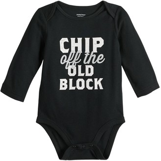Baby Girl Jumping Beans Holiday Long Sleeve Bodysuit