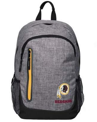 Redskins NFL Washington Forever Collectibles - Heather Grey Bold Color Backpack