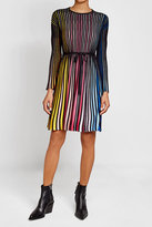 Kenzo Striped Dress with Cotton