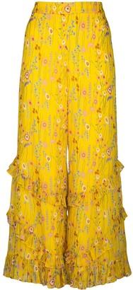 Alexis Faizel cropped trousers