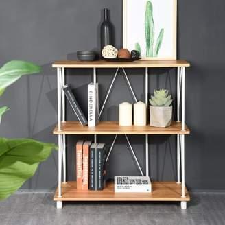 Ebern Designs Axbridge Etagere Bookcase Ebern Designs Color: Beech