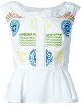 Peter Pilotto 'Iris' top