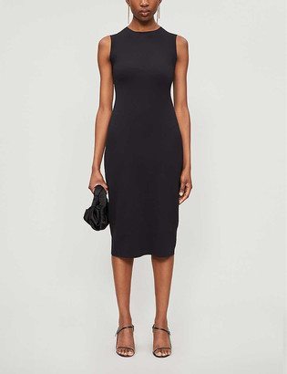 The Row Devi sleeveless stretch-jersey midi dress