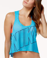 Nike Graphic Crop-Top Racerback Cover-Up Women's Swimsuit