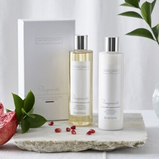 The White Company Pomegranate Bath & Body Gift Set, No Colour, One Size