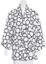 Kokon To Zai Printed Wrap Jacket