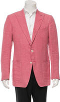 Tom Ford Woven Notch Lapel Blazer