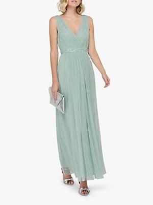 Monsoon Elyse Maxi Dress, Green