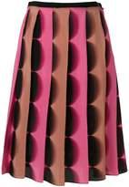 Marco De Vincenzo pleated A-line skirt