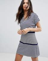 Boohoo Stripe T-Shirt Dress