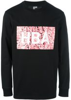 Hood by Air logo print sweatshirt - men - Cotton - L