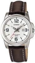 Casio Women's Core LTP1314L-7AV Leather Quartz Watch