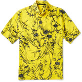 Haider Ackermann - Button-down Collar Floral-print Silk Shirt