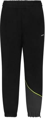 Cinzia Araia Black Boy Snow Pants With White Logo