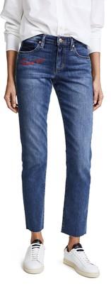 Joe's Jeans Women's Smith Midrise Straight Ankle Jean Pants