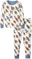 Hatley Retro Rockets Pajama Set (Toddler/Little Kids/Big Kids)