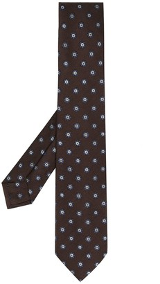 Barba Geometric-Pattern Tie