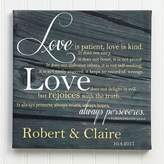 Love is Patient 24-Inch x 24-Inch Canvas Print