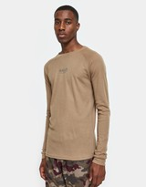 Halo Military Long Sleeve Tee in Desert Camel
