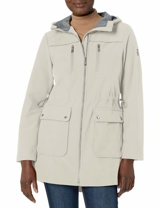 Vince Camuto Women's Hooded Softshell Jacket