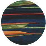 Momeni New Wave 13 Hand Tufted Round Rugs