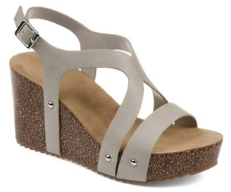 Journee Collection Geneva Wedge Sandal