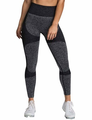 YNALIY Gym Leggings Women High Waist Seamless Running Leggings Gym Workout Fitness Sport Yoga Pant Color Block
