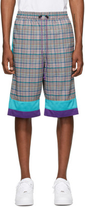 Landlord Multicolor Plaid Basketball Shorts