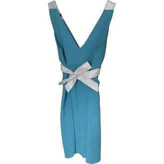 Koshka Mashka \N Turquoise Silk Dress for Women