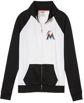 PINK Miami Marlins Bling Track Jacket