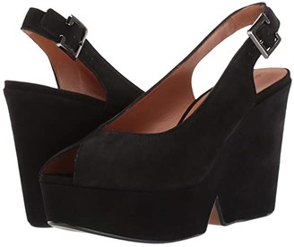 Clergerie Dylan 2 (Black Suede) Women's Shoes