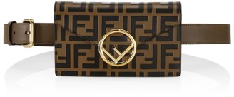 Fendi FF Leather Convertible Belt Bag & Wallet-On-Chain