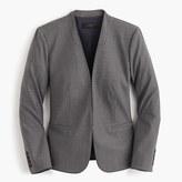 J.Crew Collarless blazer in Italian stretch wool