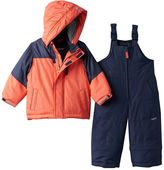 Osh Kosh Boys 4-7 Heavyweight Fleece-Lined Jacket & Bib Snow Pants Snowsuit Set