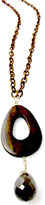 Jessica Elliot Long Threaded Chain Necklace with Wood