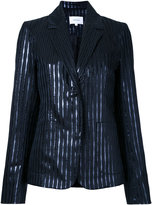 Carven striped blazer - women - Polyester/Metallized Polyester - 38