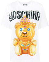 Moschino bear print T-shirt - women - Cotton - XXS