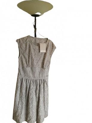 John Galliano Green Cotton Dress for Women