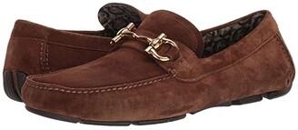 Salvatore Ferragamo Parigi 20 Driver (Brown Sugar) Men's Shoes