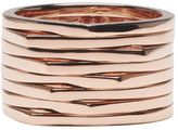 Repossi Rose Gold 8 Rows Antifer Ring