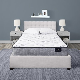 "Serta Perfect Sleeper 12"" Firm Hybrid Mattress and Box Spring Mattress Size: Twin XL, Box Spring Height: Low Profile (5"")"