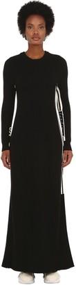 Y-3 Y 3 Wool Blend Knit Dress