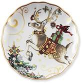 Williams-Sonoma 'Twas The Night Before Christmas Salad Plates, Set of 4, Reindeer