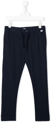 Il Gufo Slim-Fit Drawstring Trousers