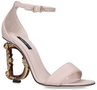 Dolce & Gabbana Barocco Heeled Sandals 100