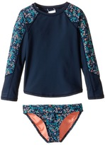 Roxy Kids Beach Bound Long Sleeve Set (Toddler/Little Kids)